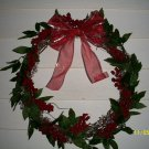 Wreath - Grapevine Red Berries