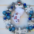 Wreath - Frosty - Personalized