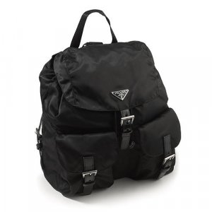 Authentic PRADA BZ2811 Black Backpack
