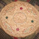 Primitive Star & Berries Candlemat