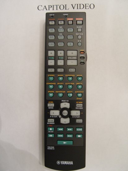 YAMAHA RAV322 REMOTE CONTROL PART # WG646300