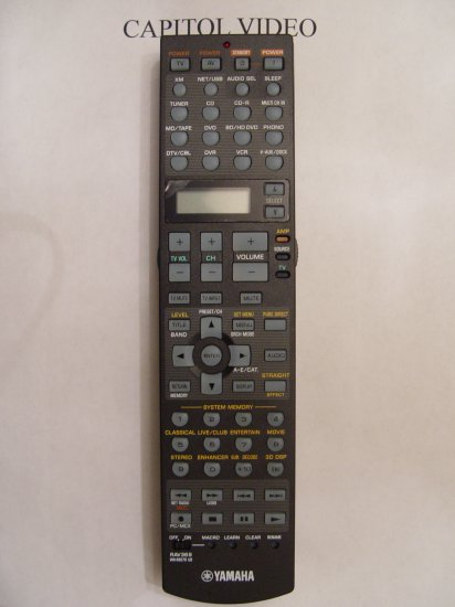 YAMAHA RAV369 REMOTE CONTROL PART # WK480700