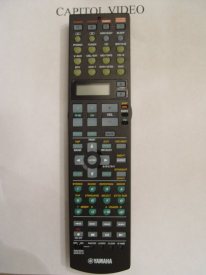 YAMAHA RAV354 REMOTE CONTROL PART # WE887200