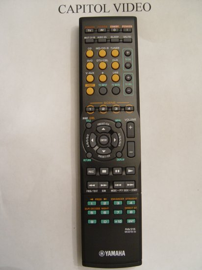 YAMAHA RAV315 REMOTE CONTROL PART # WK227300