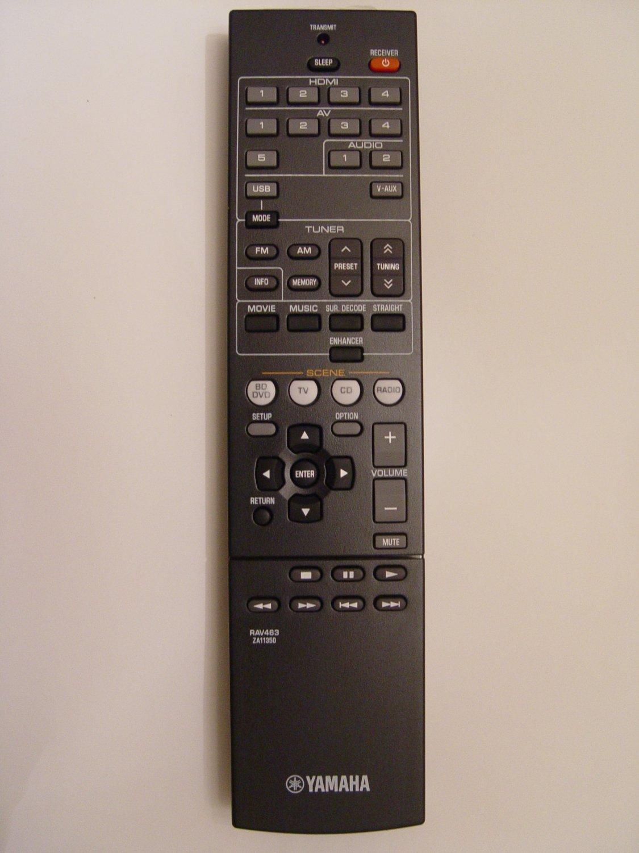 Yamaha RAV463 Remote Control Part # ZA113500