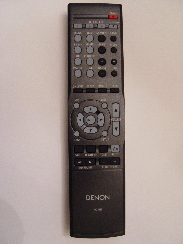 Denon RC-1180 Remote Control Part # 30701014100AD