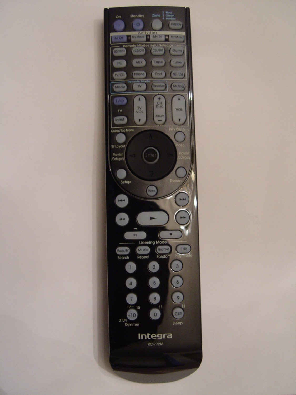 Integra RC-772M Remote Control Part # 24140772