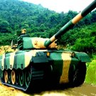 MILITARY TANK  JUNGLE WAR CAMO MILITARY # 96 SERIES