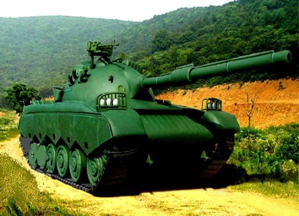 MILITARY BATTLE TANK, MILITARY WAR  MODEL  # 86 SERIES REPLICA