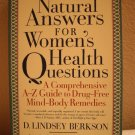 Natural Answers For Women's Health Questions, Copyright 2002