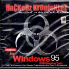 Hackerz Kronicklez PC-CD for Windows 95/NT - NEW Sealed JC
