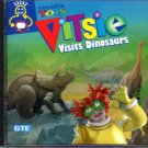 Vitsie Visits Dinosaurs (Ages 3-8) CD-ROM for Win/Mac NEW in Jewel Case