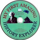 My First Amazing History Explorer (Ages 6-10) CD Windows - NEW in SLV