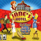 Jane's Hotel (Pack Your Bags & Check-In for Fun!)  PC CD-ROM - NEW in Jewel Case