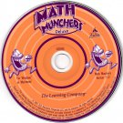 Math Munchers Deluxe (Ages 8-12) CD-ROM for Win/Mac - NEW in SLV