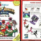 Colorforms Power Rangers Zeo (Ages 3-10) CD-ROM for Win/Mac - NEW in SLV