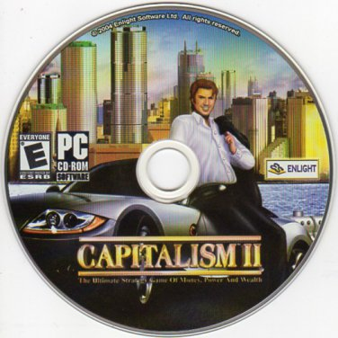 Trevor Chan's Capitalism II PC CD-ROM for Windows - NEW in SLEEVE
