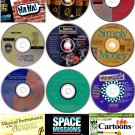 CLEARANCE -  12 MISC CD-ROMs LOT #2  - NEW in Sleeves