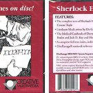 Sherlock Holmes on Disc! CD-ROM for DOS/MAC - NEW JC