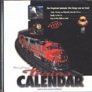 Trains CALENDAR CD-ROM for Windows - NEW in SLEEVE