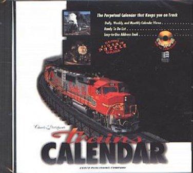 Trains CALENDAR CD-ROM for Windows - NEW in SLEEVE