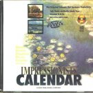 Impressionists Calendar CD-ROM for Windows 3.1/95/98 - NEW in SEEVE