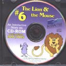 The Lion & the Mouse CD (Ages 3-6) PC/MAC - NEW in SLV