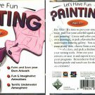 Let's Have Fun PAINTING (Ages 3-7) CD-ROM for Win/Mac - NEW in JC
