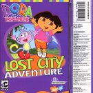 Dora The Explorer: Lost City Adventure (Ages 3+) CD Win/Mac - NEW in SLV