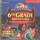 ClueFinders: 6th Grade Adventures CD Win/Mac - NEW in JC