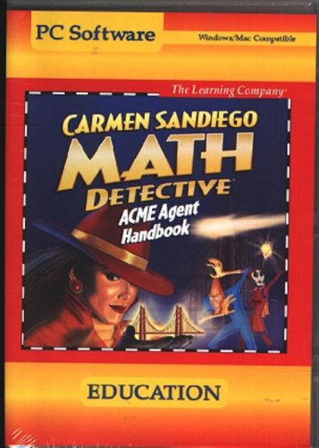 Carmen: Math Detective (Ages 8-14) CD-ROM Win/Mac - NEW in SLV