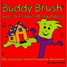 Buddy Brush and The Painted Playhouse CD-ROM for Win/Mac - NEW in SLV