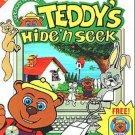 Teddy's Hide 'N Seek (Ages 3-6) CD-ROM for DOS - NEW in SLV
