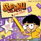 SUDOKU Crunch for Kids! (Ages 7-77) CD-ROM for Win 98/Me/XP/Vista - NEW in SLV
