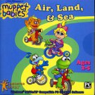 Muppet Babies Air, Land & Sea (Ages 2-5) CD-ROM Win 98/Me/XP - NEW in SLV