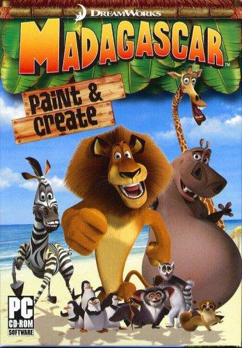 Madagascar Paint & Create CD-ROM for Windows - NEW in SLV
