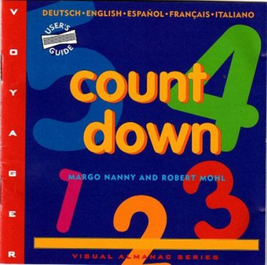 Countdown (Grade K-6) by Voyager (1994) CD-ROM for Windows - NEW in SLV