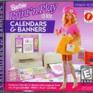 Barbie Calendars & Banners (Age5+) CD-ROM for Windows - NEW Sealed JC