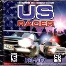 US RACER by DAVILEX PC-CD-ROM for Windows 95/98/2000/ME - NEW in JC