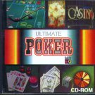 Ultimate Poker PC CD-ROM for DOS or Win 95/98 DOS mode - New in SLV