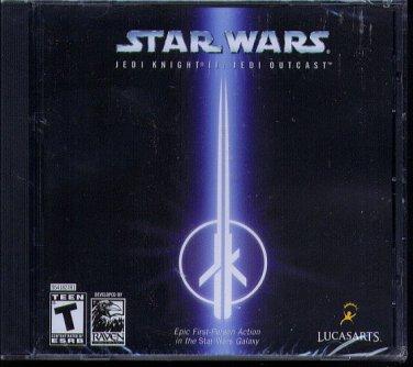 Star Wars Jedi Knight II: Jedi Outcast PC-CD - NEW in SLEEVE