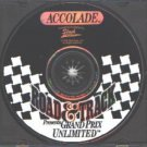 Road & Track: Grand Prix Unlimited PC-CD for DOS - NEW in SLV
