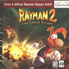 Rayman 2: The Great Escape CD-ROM for Win 95/98 - NEW in SLEEVE