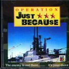 Operation Just Because PC-CD for DOS - NEW in SLV