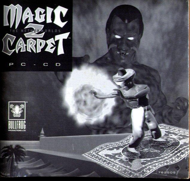 Magic Carpet 2: The Netherworlds CD-ROM for Windows 95/DOS - NEW in SLV