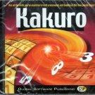 Kakuro PC CD-ROM for Windows 98/2000/ME/XP - New in SLV