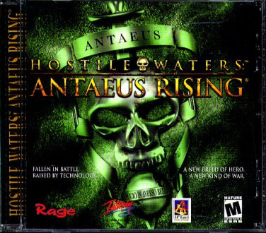 HOSTILE WATERS: ANTAEUS RISING PC CD-ROM for Windows 95/98/2000/Me - NEW JC