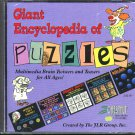 Giant Encyclopedia of Puzzles PC CD-ROM for Win/DOS - NEW in SLV