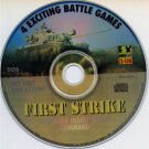First Strike PC CD-ROM for DOS/Win - NEW in SLV