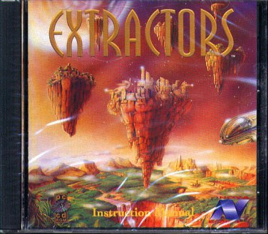 EXTRACTORS CD-ROM for DOS - NEW in SLEEVE